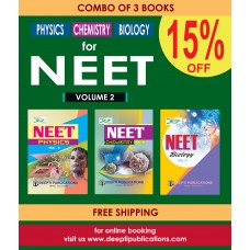 NEET PHYSICS, CHEMISTRY, BIOLOGY Vol - 2