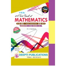 Mathematics Semester 4 - Paper 4 Real Analysis (E.M)
